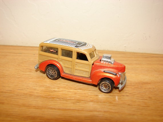 Vintage 1979 Hot Wheels Woody Linked Excellent condition