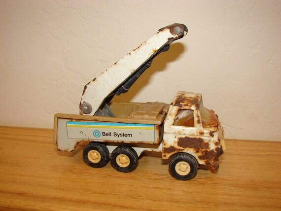 SALE Vintage 1970s Tonka Bell System Truck.