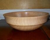 "13 5/8"" Large Maple Bowl/Platter"