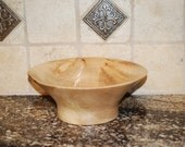 "12"" Diameter Maple bowl 4 1/2"" Tall"