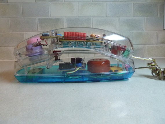 Rad 1980s Unisonic Translucent Phone - MINT