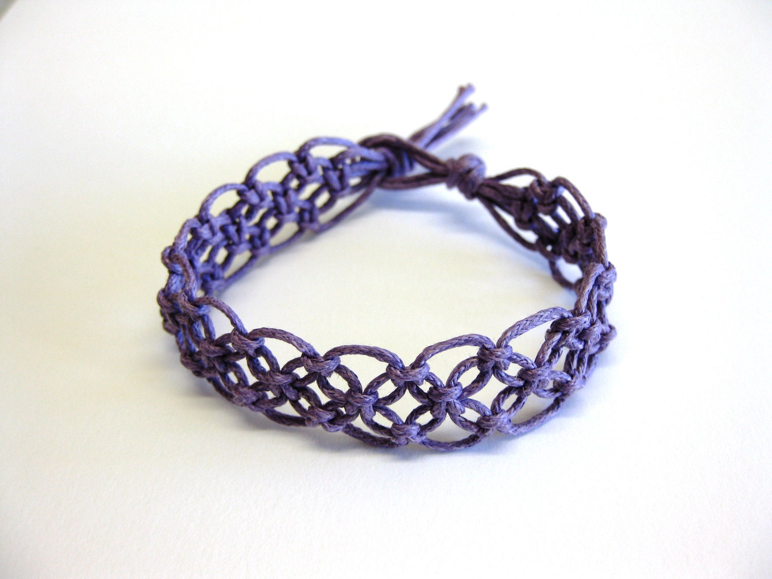 Macrame Bracelet Pattern || using design pattern in uml
