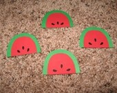 8 watermelon diecuts for Leslie