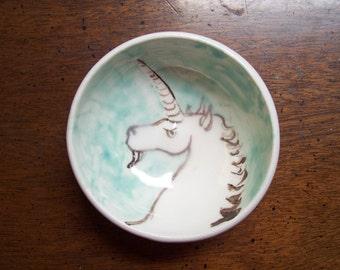Little unicorn bowl
