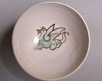 little green dragon bowl