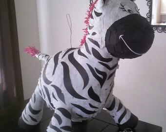 pink zebra pinata