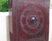 reserved for Sara - Customize Big Book of Shadow Handmade Leather Notebook Journal Diary Sketchbook
