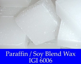 5 lbs. Paraffin/Soy Wax - IGI 6006 - Premium Container Wax for Candle Making