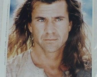 Vintage 8x10 Publicity Photo  : Mel Gibson