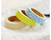 Adhesive Deco fabric tape set of 3 tapes - sometimes