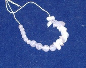 REDUCED Price - Blue Lace Agate Gemstones - Beads and Nuggets - DESTASH