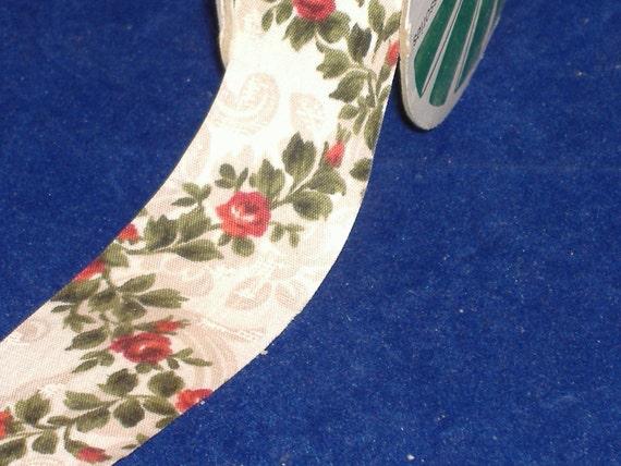 Ivory Rosemont Fabric Ribbon - Destash
