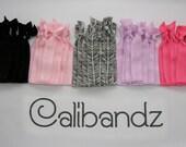 Pink Zebra - 5 Calibandz - shimmer hair ties, twist emi bella foe