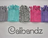 Fiesta DeMask - 5 Calibandz - shimmer hair ties, twist emi bella foe