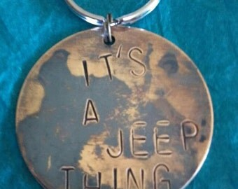 Jeep Keychain It's a Jeep Thing Jeep Accessories Jeep Girl Jeep Lover Gift
