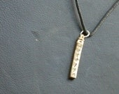 Personalized Men's Swivel Bar Necklace