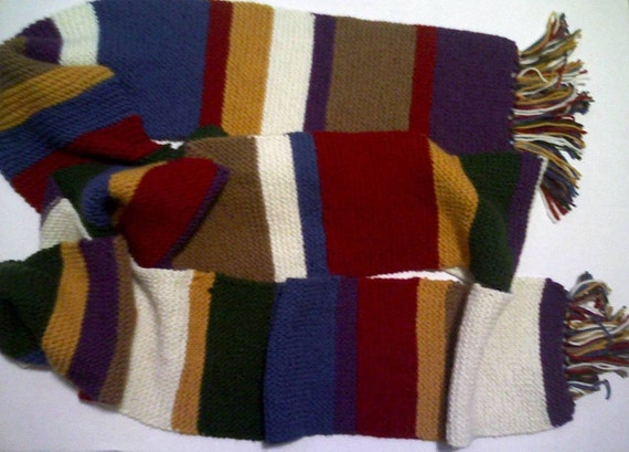 Doctor Who Tom Baker Scarf