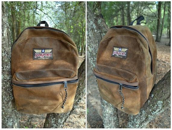 Leather Jansport Backpack | Os Backpacks
