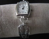 Silverware bracelet watch