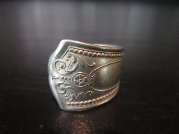 Handmade spoon ring 6 1/4