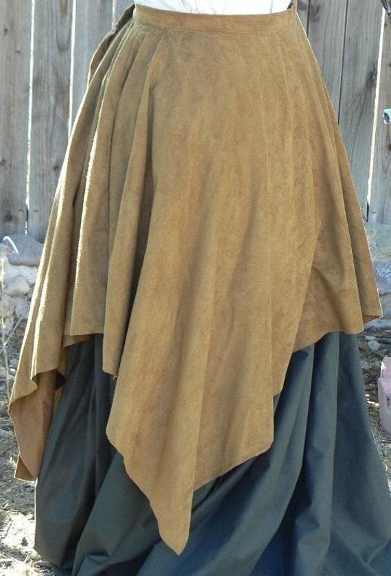 Renaissance Handkerchief Cotton Pirate Layer Skirt LARP