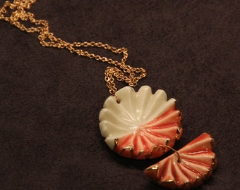 Coral Shell Pendant