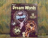 Plastic Canvas Dream Words