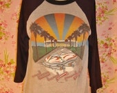 Don't Stop Believing - Vintage 80s JOURNEY concert T shirt The Forum - S
