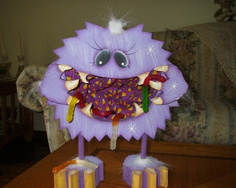 Purple Monster Candy Dish for Halloween