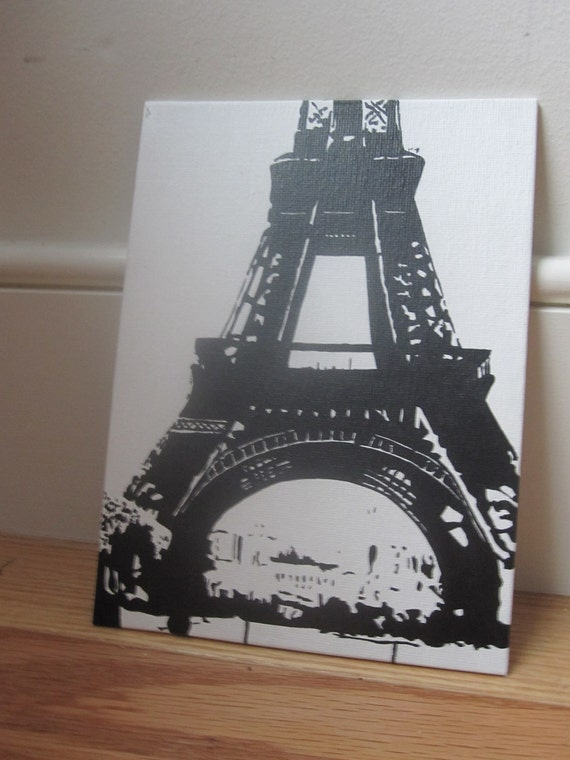 Eiffel Tower, Paris - Pop Art Painting