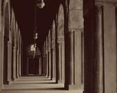 11x14 Print - Mosque / Cairo / Black & White