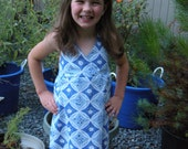 Girls Size 6 Halter Dress