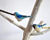 Cute Hair Pins - Bluebird Bobby Pins - Bird Hair Clip