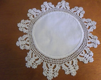 Round Crocheted Doily