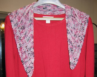 Stylish Kerchief Scarf - Araucania Nature Cotton (Patagonia)