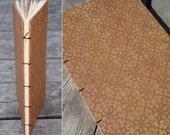 "Brown ""Tile"" Journal : bound in Coptic Stitch"