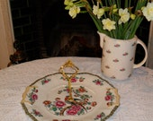 Vintage 1 Tier Cake Stand