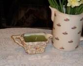 Vintage Milk Jug Candle - Lightly Scented Lime Cooler