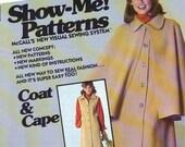 McCalls 5753 Show Me Coat and Cape Vintage Pattern Uncut