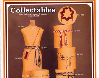 Macrame craft tutorial belts necklaces bags