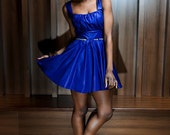The Royal Blue cocktail dress size uk 8 10 12