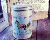 1950's Dutch 'Fries beschuit ' Tin Can