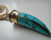 Large Horn Tribal Necklace