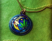After DARK  Cannabis ART Pendant