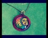 SUNshine and DAYdreams  Cannabis ART Pendant
