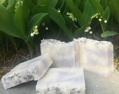 Lavender Soap (3 pack) :  Handmade Soap, Great Gift - Lavender Fields (pack of 3 bars)
