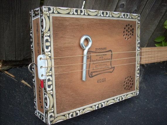 Arturo Fuente acoustic Cigar Box Guitar