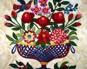 A Flowering Friendship - Applique Quilt Pattern