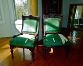RESERVED for Paul + 3rd chair EASTLAKE CHAIRS Set of 2