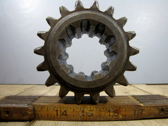 scrap industrial gear